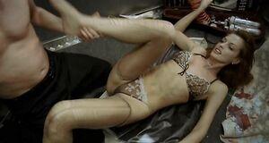 Порно сцена с Ольгой Родионовой в лифте