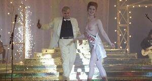 Амалия Мордвинова на конкурсе голых сисек