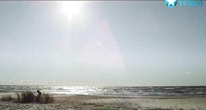 Трах с Северией Янушаускайте на берегу балтийского моря