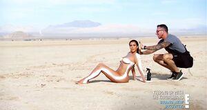 Обнаженная Ким Кардашьян в фотосессии