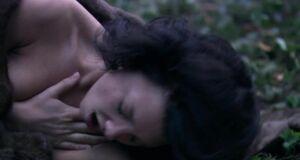 Трах с Натали Дормер в лесу