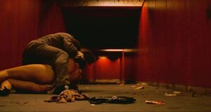 Сцена изнасилования Моники Беллуччи в подземном переходе