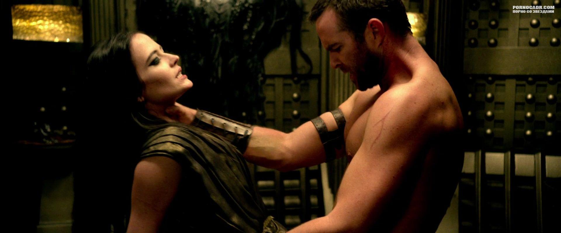 Ева грин сексуальное видео в 300 спартанцев