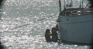 Трах с Эмбер Хёрд в море