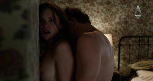 Страстная порно сцена с Рут Уилсон