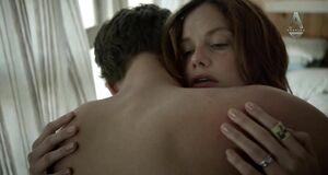 Порно сцена с Рут Уилсон