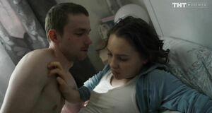 Юлия Хлынина трахается в постели