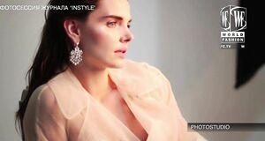 Засвет сосков Елизаветы Боярской на фотосессии для Instyle