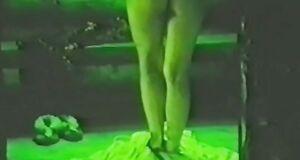 Обнаженная Ольга Дроздова в бане