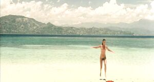 Порно сцена с Софи Марсо на пляже