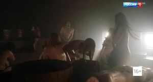 Сцена в бане со Светланой Ходченковой