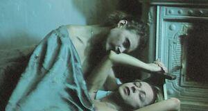 Лесбийская порно сцена с Анжеликой Неволиной и Ольгой Конской